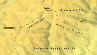 abraham between bethel and ai