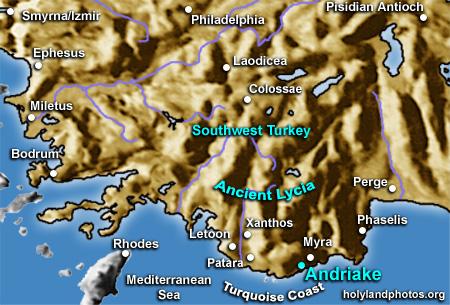 andriake map