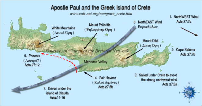 apostle paul and the greek island of crete (cob-net.org)