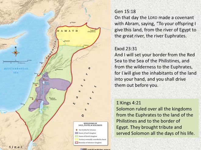 land fulfillment (genesis 15 18)