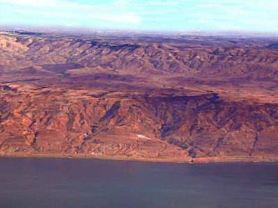 moab looking east across the dead sea