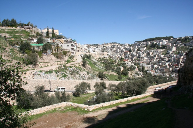 the hinnom valley, where judas hanged himself